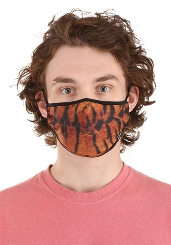 Protective | Fabric | Tiger | Cover | Face | Mask