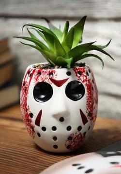 Jason Mask Large Ceramic Planter-1-2