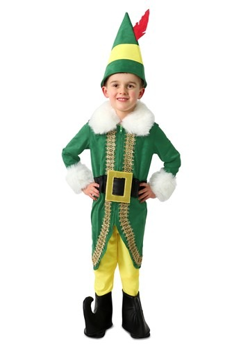 Elf Child Buddy the Elf Deluxe Costume