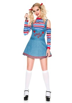 Women's Sexy Good Guys Doll Costume