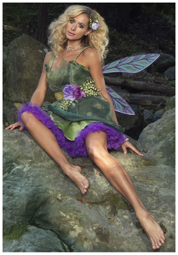 WOODLAND FAIRY COSTUME - Pretty Women's Edgy Halloween Costumes