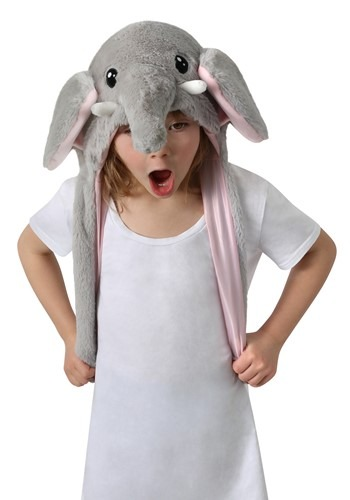 Moving Ears Elephant Plush Hat