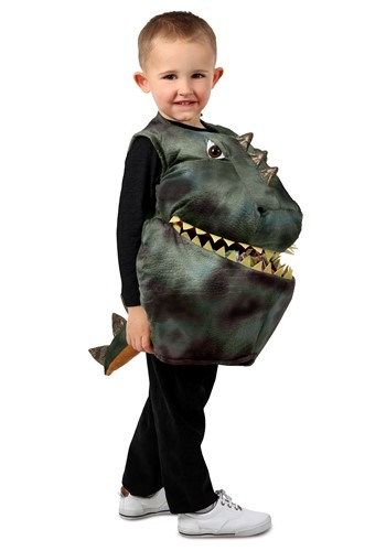Child Feed Me Dinosaur Costume