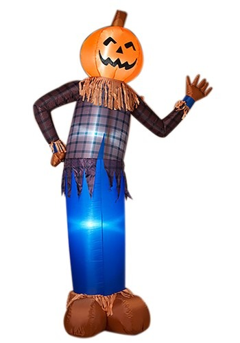 "96""H Electric Inflatable Halloween Scarecrow"
