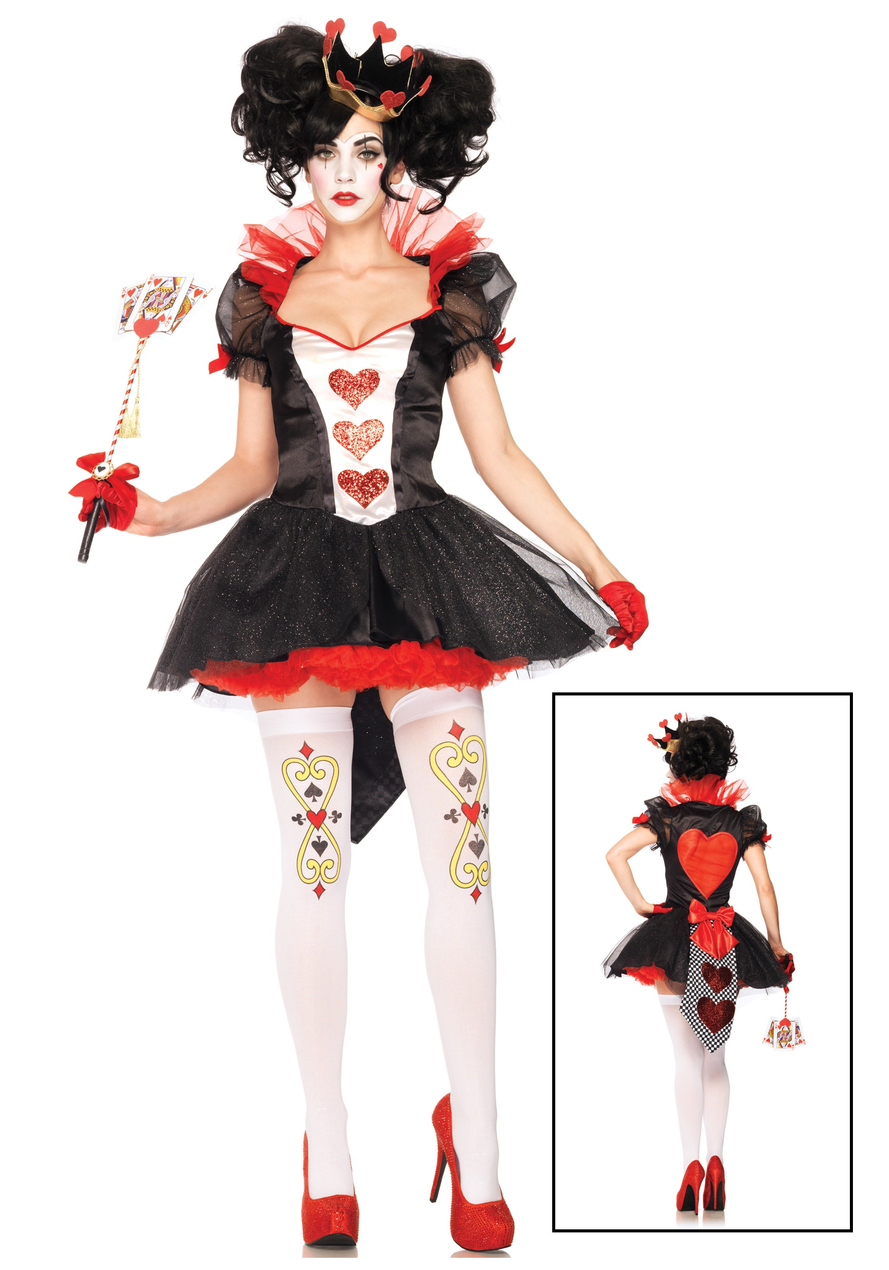 Sexy Royal Queen of Hearts Costume - DeluxeAdultCostumes.com