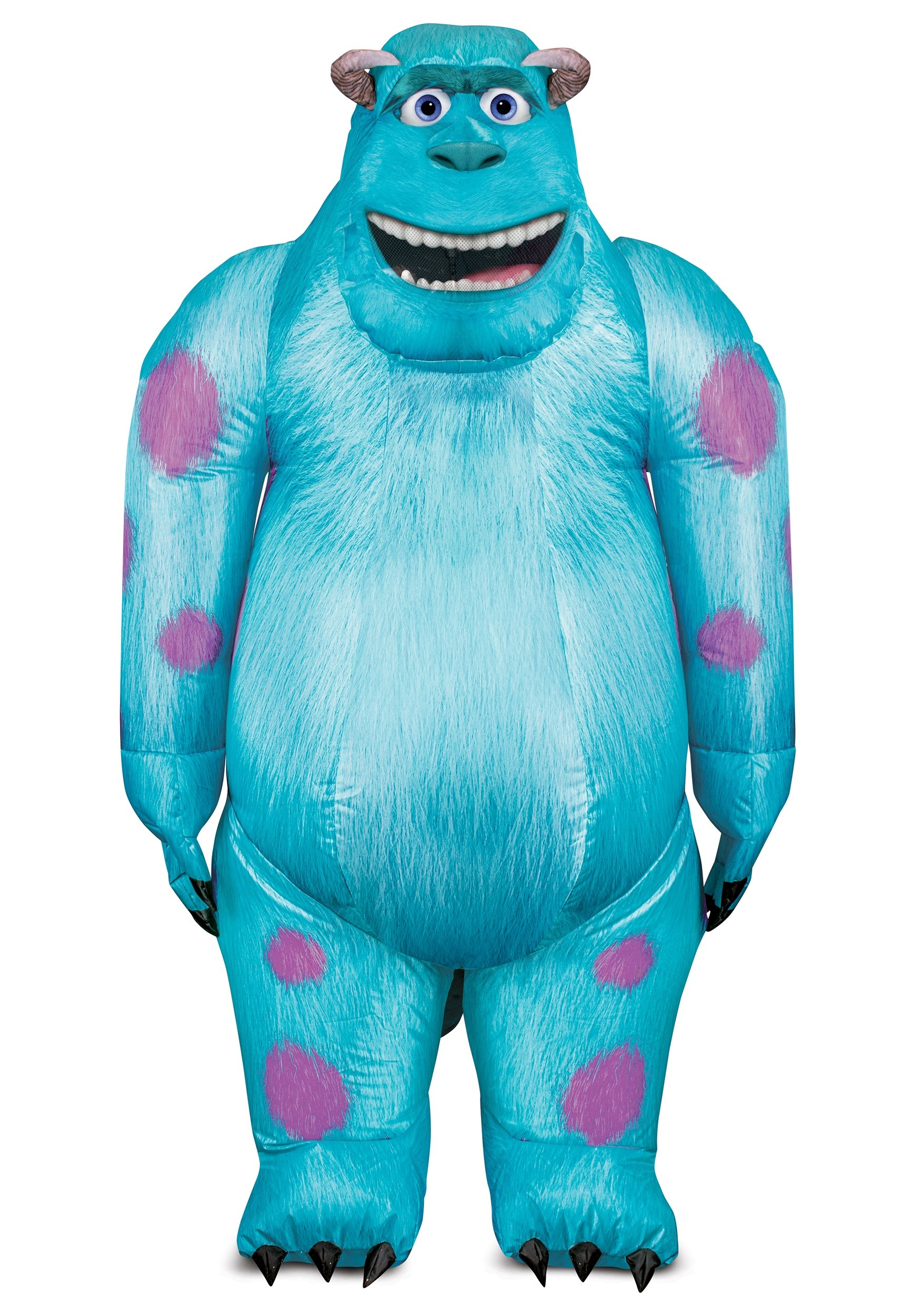 Monsters Inc Sulley Inflatable Costume For Adults
