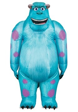 Monsters Inc Adult Sulley Inflatable Costume 1