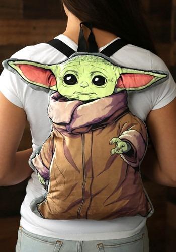 Star Wars Baby Yoda Plush Backpack