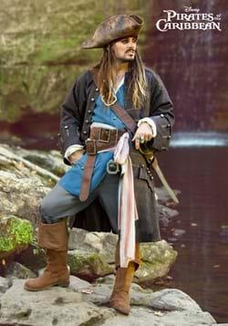 Authentic Captain Jack Sparrow Adult Costume-2