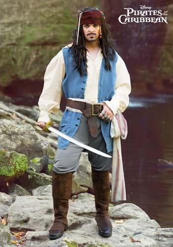 Captain Jack Sparrow Mens Costume-2