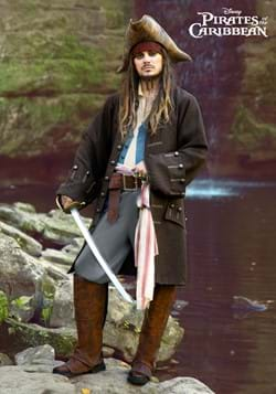 Deluxe Jack Sparrow Pirate Costume for Men-2
