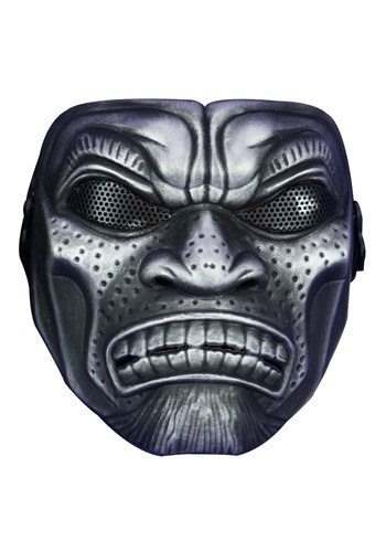 Silver Samurai Warrior Mask