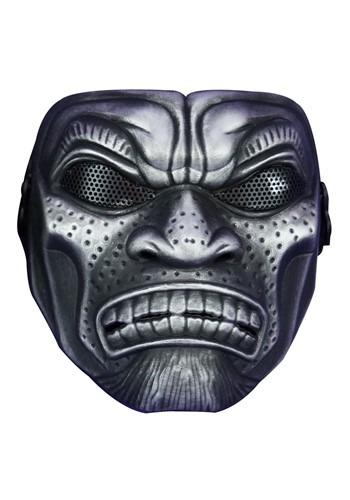 Adult Samurai Warrior Mask-Silver
