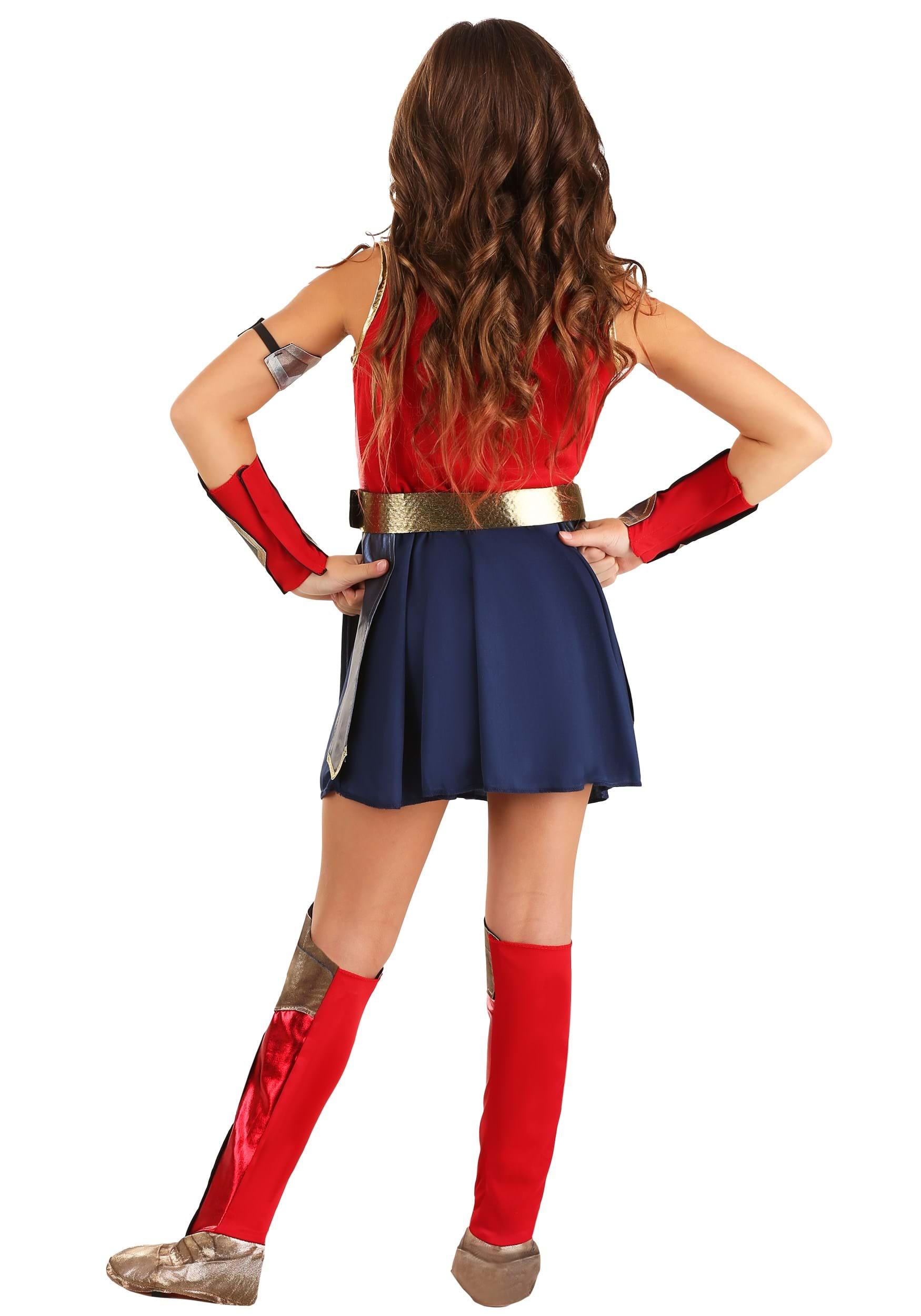 Girl/'s Wonder Woman 84 Costume