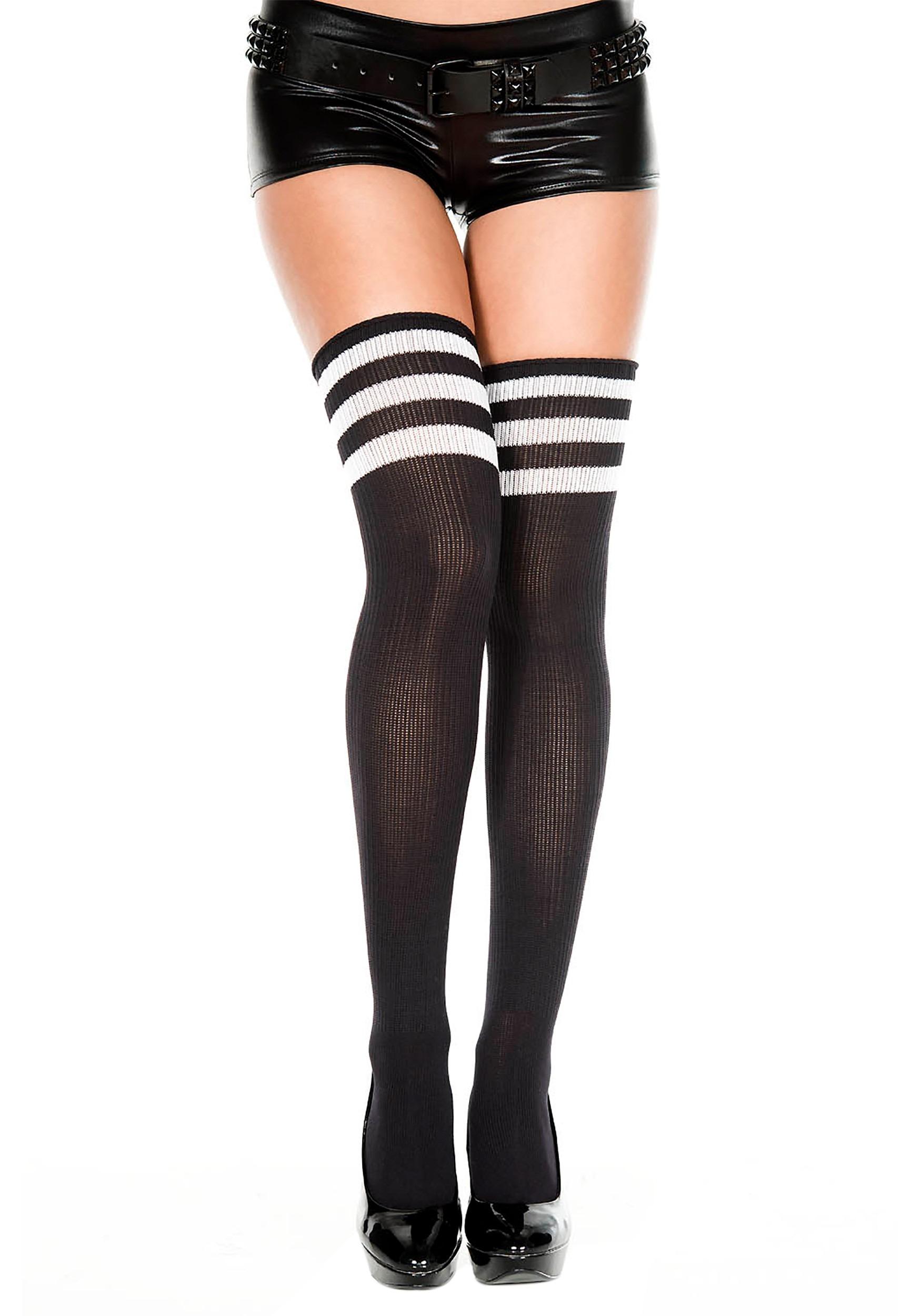 Black Stockings Suspenders Hd