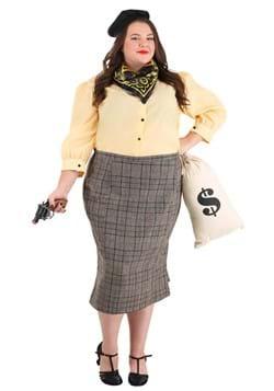 Womens Plus Size Bonnie the Bandit Costume