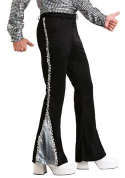 Men's Plus Size Silver Sequin Disco Pants