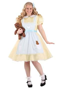 Womens Plus Size Goldilocks Costume
