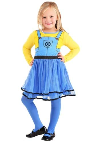 2 Piece Girls Minions Dress Set