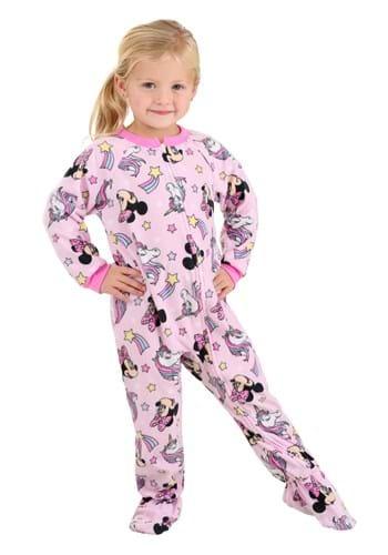 Pink Toddler Minnie Unicorn Onesie Upd 3