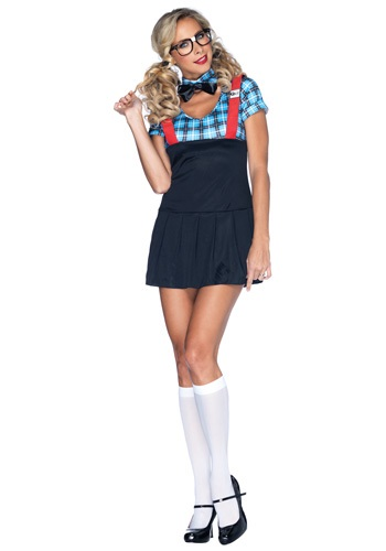 Click Here to buy Naughty Nerd Costume from HalloweenCostumes, CDN Funds