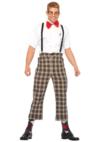 Click Here to buy Mens Nerdy Nerd Costume from HalloweenCostumes, CDN Funds