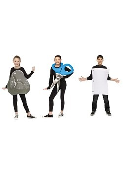 "Kid""s Rock, Paper, Scissors Costume"
