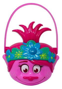 Trolls Poppy Plastic Trick or Treat Pail