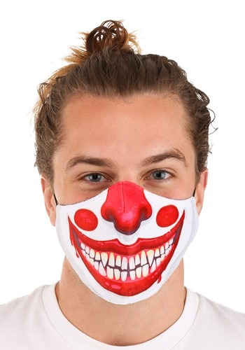 Adult Clown Sublimated Face Mask