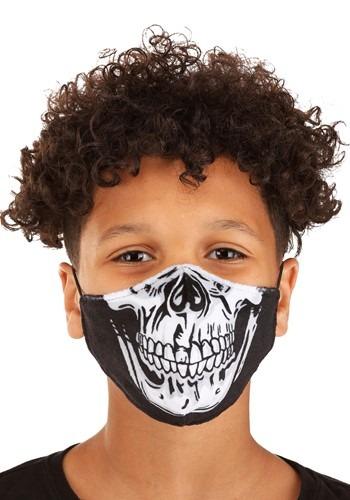 Child Skeleton Sublimated Face Mask