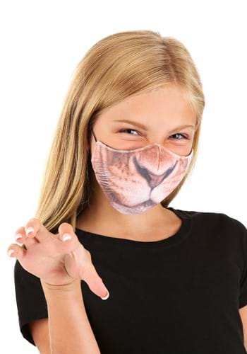 Kids Lion Sublimated Face Mask