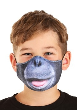 Child Gorilla Sublimated Face Mask