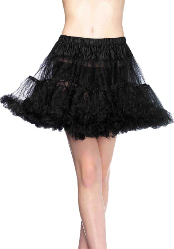 Black Layered Tulle Petticoat By: Leg Avenue for the 2015 Costume season.