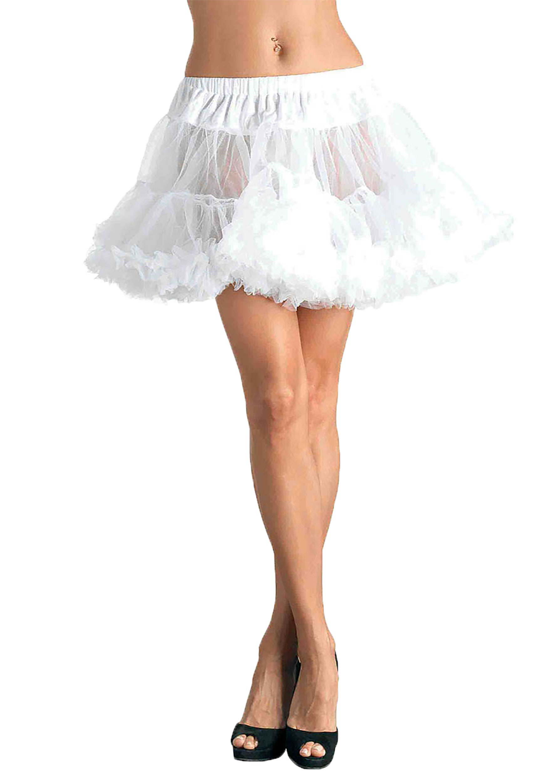 how to make a girls tulle petticoat