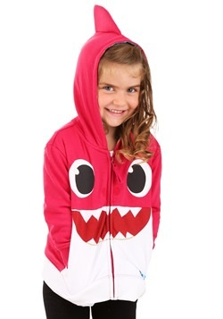 Toddler Pink Baby Shark Costume Hoodie update