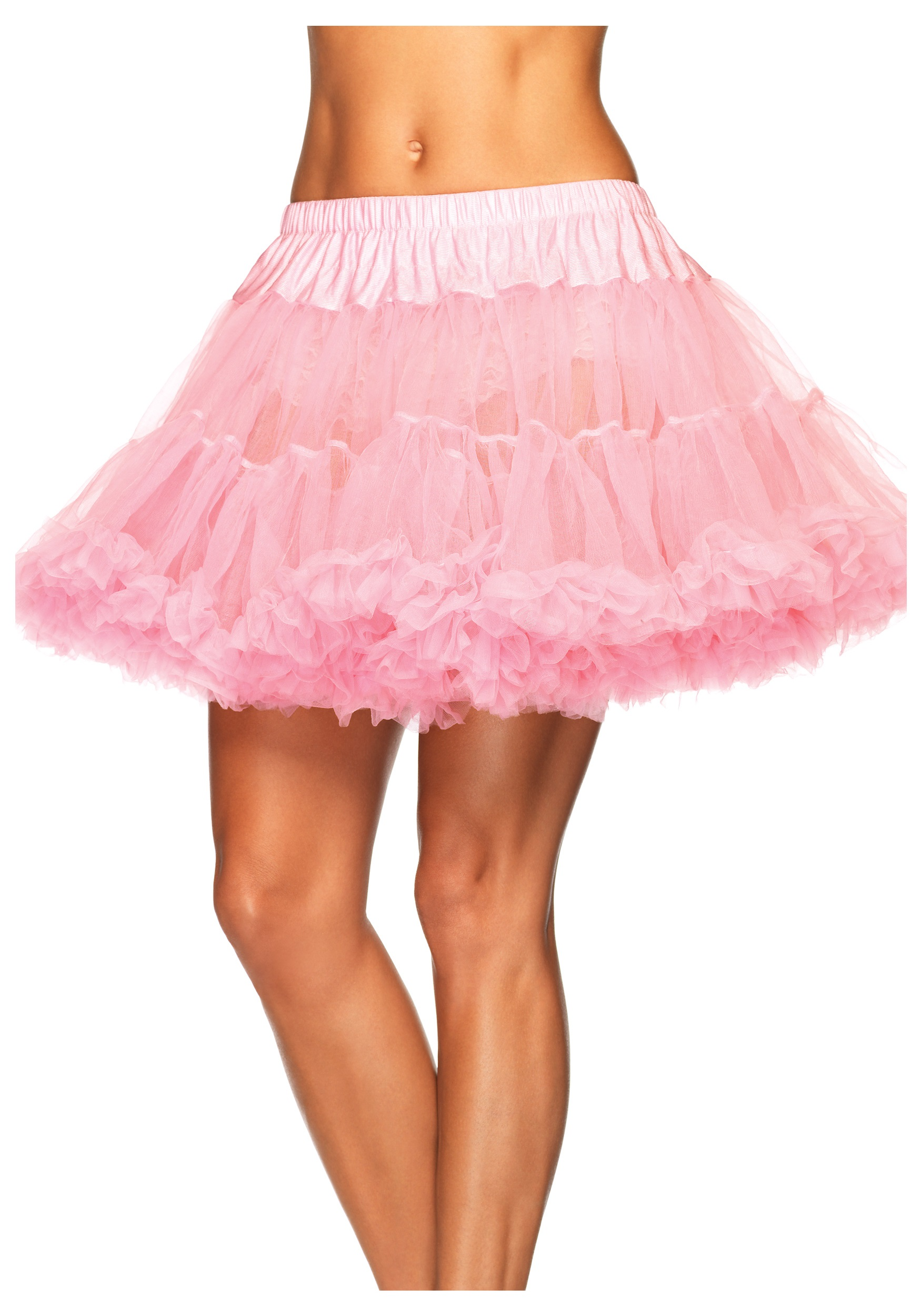 Plus Pink Layered Tulle Petticoat
