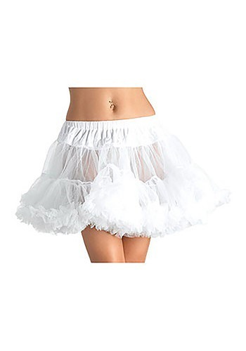 Plus Size White Tulle Petticoat By: Leg Avenue for the 2015 Costume season.