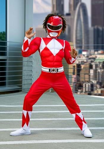 Power Rangers Boys Red Ranger Costume-2