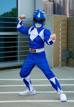 Power Rangers Boys Blue Ranger Costume