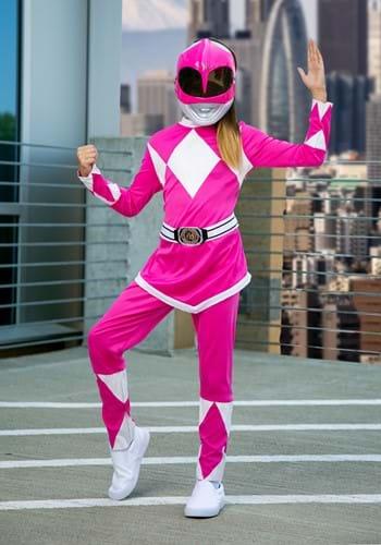 Power Rangers Girls Pink Ranger Costume-2