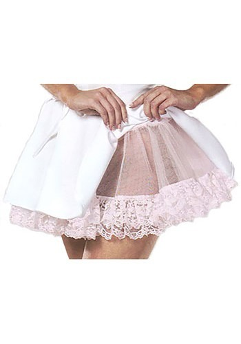 Pink Lace Teardrop Petticoat Slip By: Leg Avenue for the 2015 Costume season.