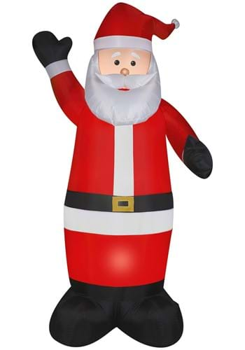 Airblown Santa Christmas Prop