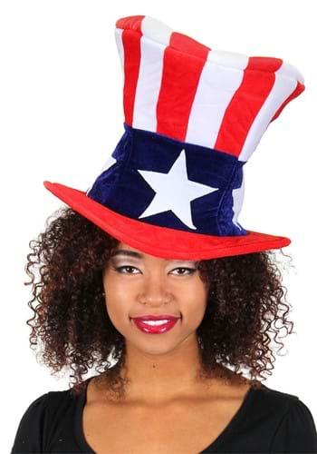 Giant Uncle Sam Plush Hat