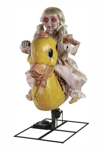 36 Inch Rocking Ducky Doll Animatronic Prop