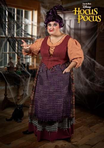 Hocus Pocus Mary Sanderson Plus Size Womens Costume-0