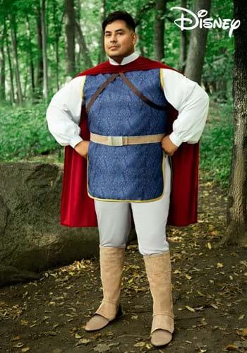 Snow White Prince Plus Size Mens Costume-2
