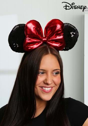 Minnie Sequin Ears Headband