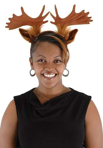 Moose Ears & Antlers Headband update