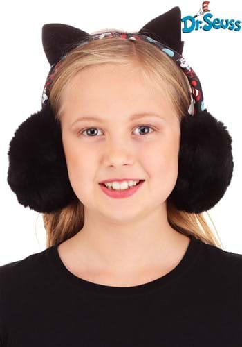 The Cat in the Hat Adjustable Earmuffs Main UPD