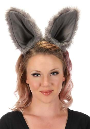 Deluxe Gray Wolf Ears Headband Update